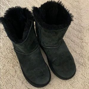 Other - Uggs kids black bow boots